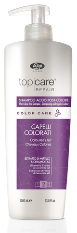 Стабилизатор цвета Top Care Repair Color Care After Color Acid Shampoo 1000 мл