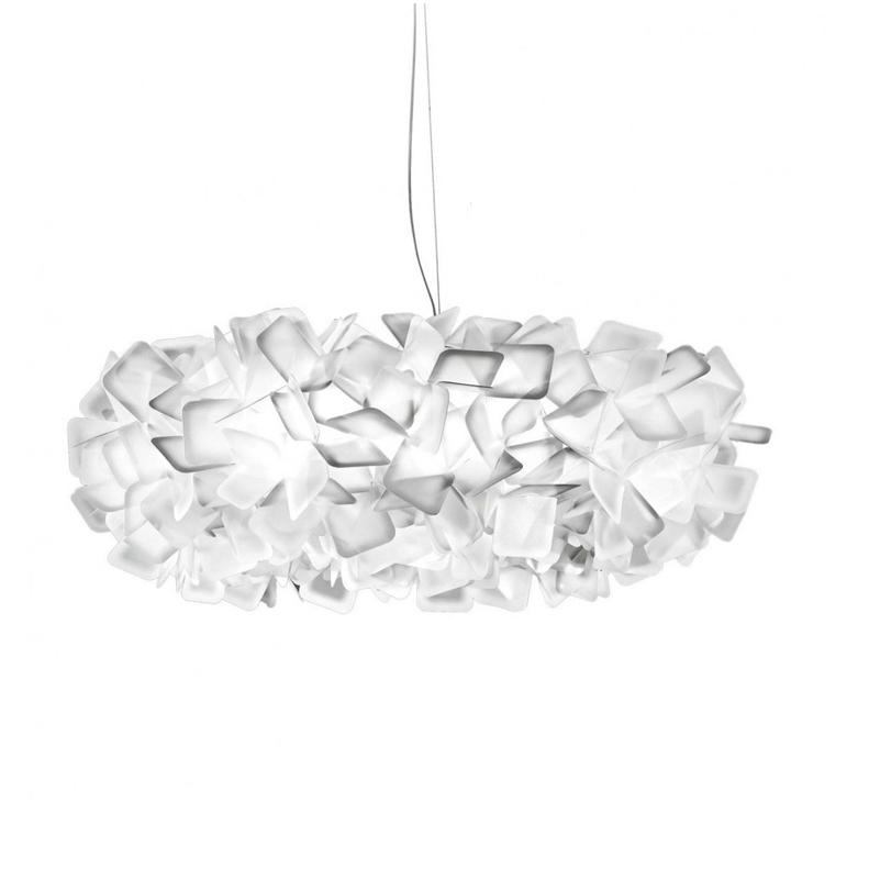 Подвесной светильник Clizia by Slamp D70 (белый)