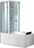 Гидромассажная ванна Gemy G8040 B L 170х85