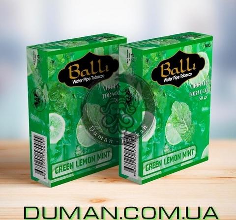 Табак Balli GREEN LEMON MINT (Балли Зеленый Лимон Мята)