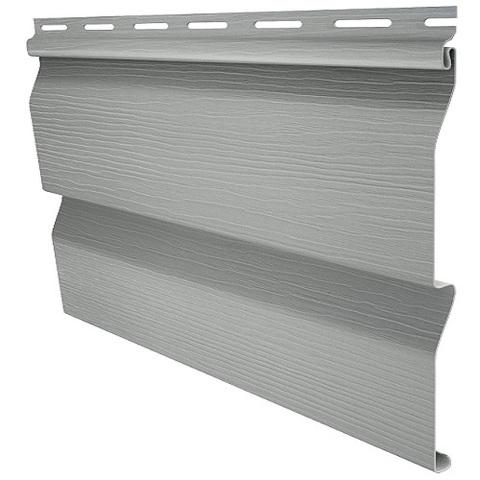 Сайдинг Ю пласт Корабельный брус серый 3050х230 мм