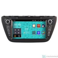 Штатная магнитола 4G/LTE с DVD для Suzuki SX-4 Android 7.1.1 Parafar PF985D
