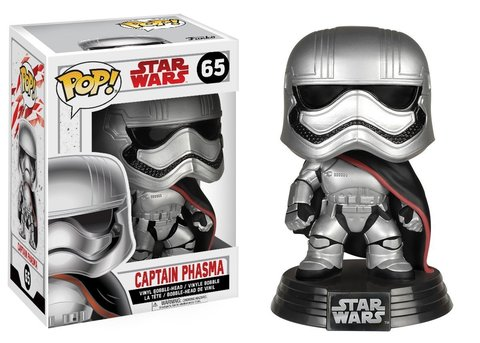 Фигурка Funko POP! Bobble: Star Wars: E8 TLJ: Captain Phasma