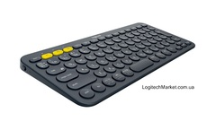 LOGITECH K380 Multi-Device Bluetooth Keyboard Dark Grey [920-007558/920-007584]