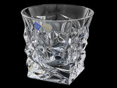Набор из 6 хрустальных стаканов для виски «Glacier»