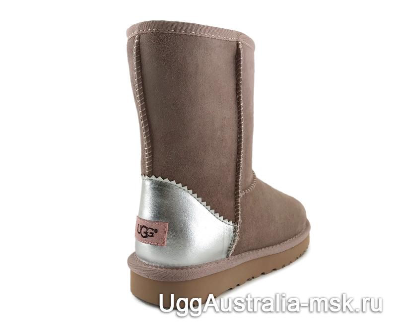 UGG Classic Short II Metallic Dusk