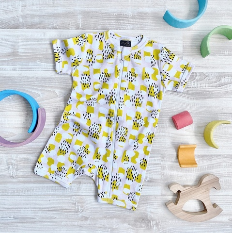 Песочник Mjölk Sleep and Play Mustard Spots