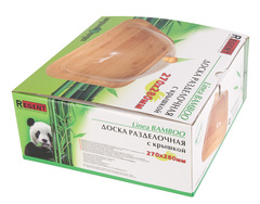 Доска с крышкой (бамбук)