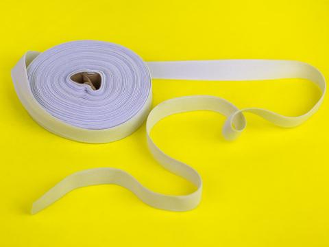 Эластичная лента, Let's make, ширина 20 мм., Белая