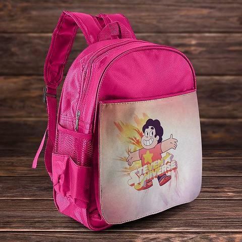 Розовый рюкзак