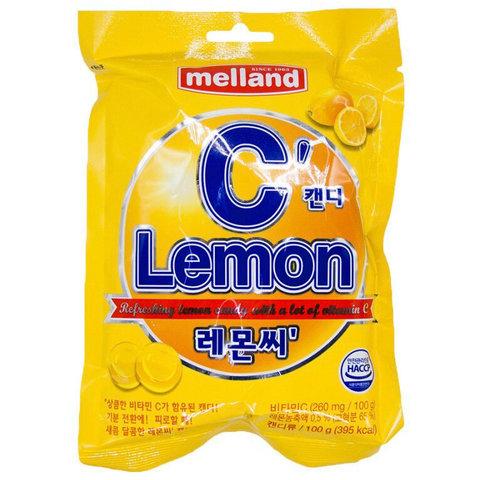Карамель Меланд MELLAND Lemon C  100 гр