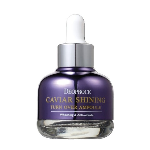 DEOPROCE Сыворотка для лица с экстрактом икры DEOPROCE CAVIAR SHINING TURN OVER AMPOULE