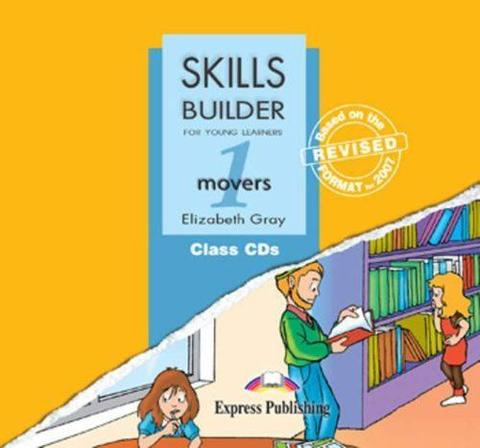 Skills Builder MOVERS 1. Class Audio CDs. (set of 3). Аудио CD для работы в классе