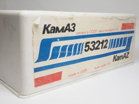 KAMAZ-53212 red Elecon 1:43