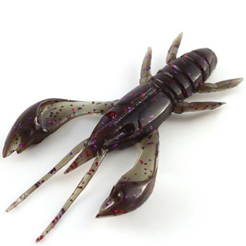 FishUp Real Craw силиконовая приманка цвет № 050 - Green Pumpkin Brown/Red & Purple