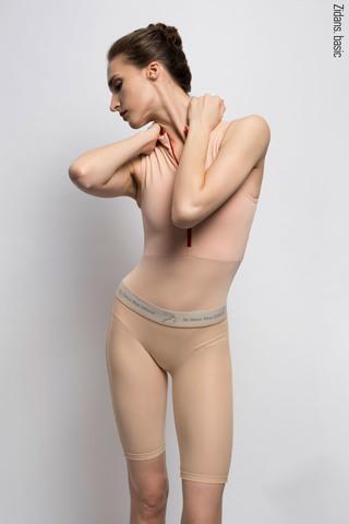 Translucent Ziphirus velo leggings Zold | nude