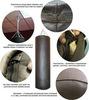 Боксёрский мешок D20, H50, W10-15, натуральная кожа.