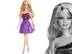 """Кукла Барби """"Блестящая Студия"""" (сиреневое платье)"""