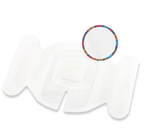 Повязка АйВи-ГексоФилм с хлогексидином 7x8,5 см