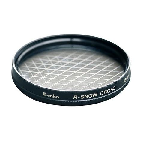 Эффектный фильтр Kenko R-Snow Screen на 77mm (6 лучей)