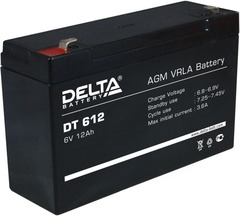 Аккумулятор Delta 6В 12 А\Ч