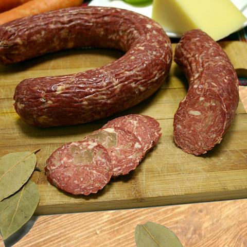 Малика колбаса полукопченая особая (Краковская) 0,45 кг