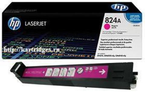 Картридж Hewlett-Packard (HP) CB383A №824A