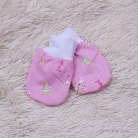 Царапки для новорожденных (розовые)