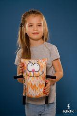 Подушка-игрушка антистресс «Теплый кот», оранжевый 2