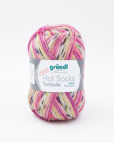 Носочная пряжа Gruendl Hot Socks Torbole 04 купить