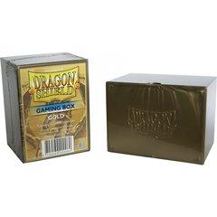 Dragon Shield - Коробочка золотая на 100+ карт