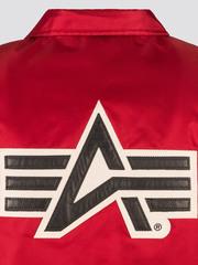 Куртка Alpha Industries Coaches Jacket Commander Red/Orange (Красная)