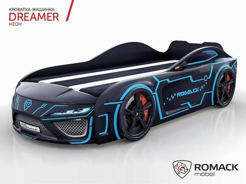 Кровать-машина Dreamer Неон