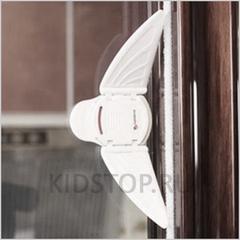 Блокиратор для раздвижных окон и дверей