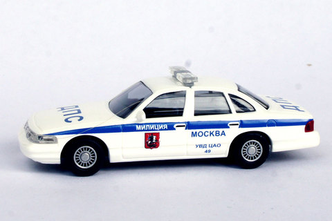 Busch 49049 Автомобиль Ford Crown Victoria ДПС УВД ЦАО 49