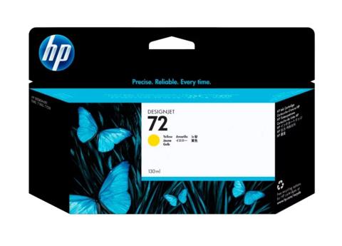 Картридж струйный HP C9373A (№72), желтый