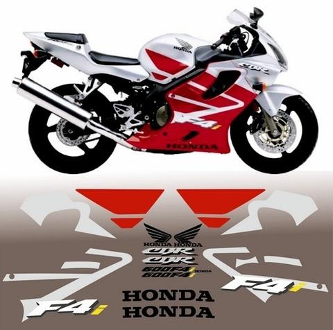 Набор виниловых наклеек на мотоцикл HONDA CBR 600 F4i 2004