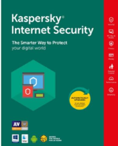Kaspersky Internet Security (1 устройство 1 год) (цифровой ключ)
