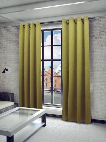 Готовая штора Элисия 1 зеленый