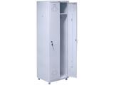 Шкаф медицинский для одежды МД 2 ШМ-SS (21-50)