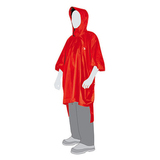 Пончо туристический непромокаемый Tatonka Poncho 2 M-L red