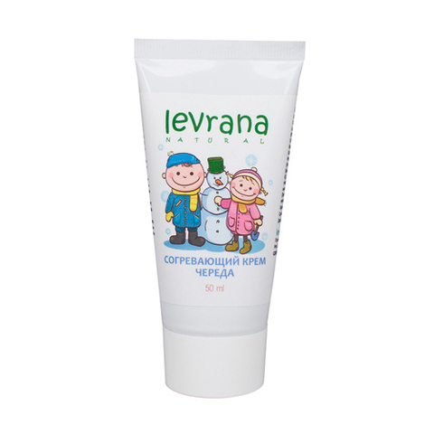 Levrana, Согревающий детский крем Череда, 50мл