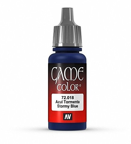 Game Color Stormy Blue 17 ml.