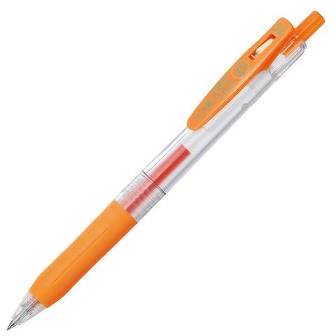 Ручка гелевая Zebra Sarasa Clip 0.4 Orange
