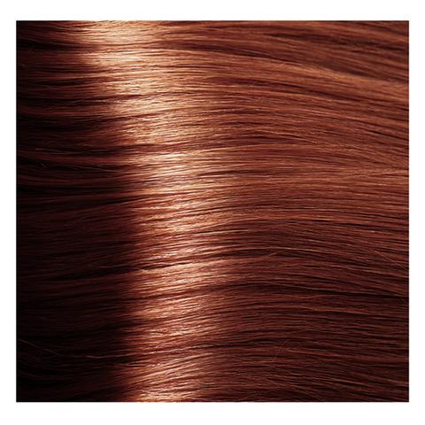 Крем краска для волос с гиалуроновой кислотой Kapous, 100 мл - HY 7.44  Блондин интенсивный медный