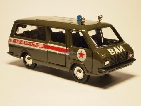 RAF-2203 VAI Military Vehicle Inspection Agat Mossar Tantal 1:43