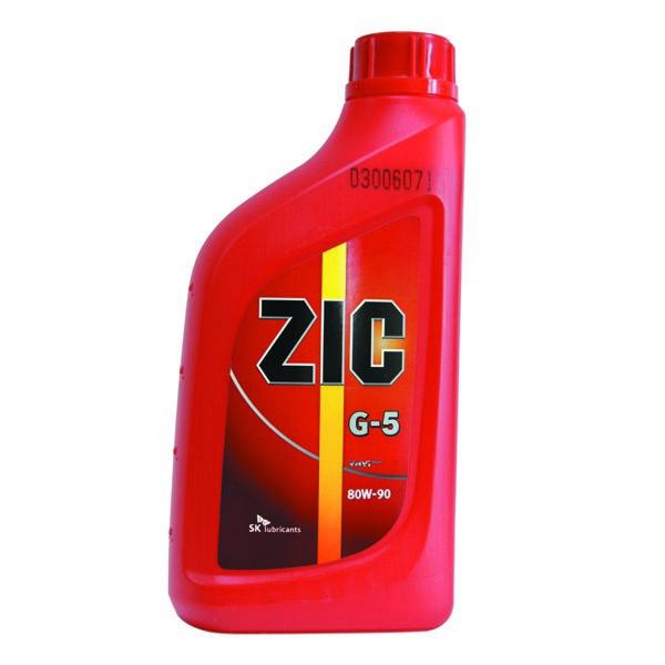 ZIC 80W90 GL-5 - Трансмиссионное масло для МКПП
