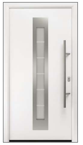 Дверь входная Hormann RenoDoor Plus RAL 9016 (белый)