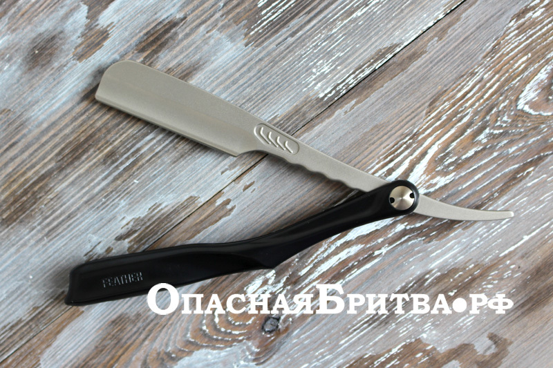 Опасная бритва-шаветт Feather Artist Club SS
