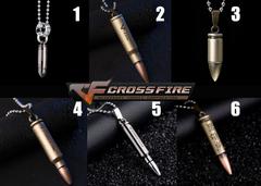 Cross Fire Pendant Necklace v1